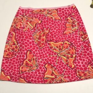 Reversible Lilly Pulitzer skirt